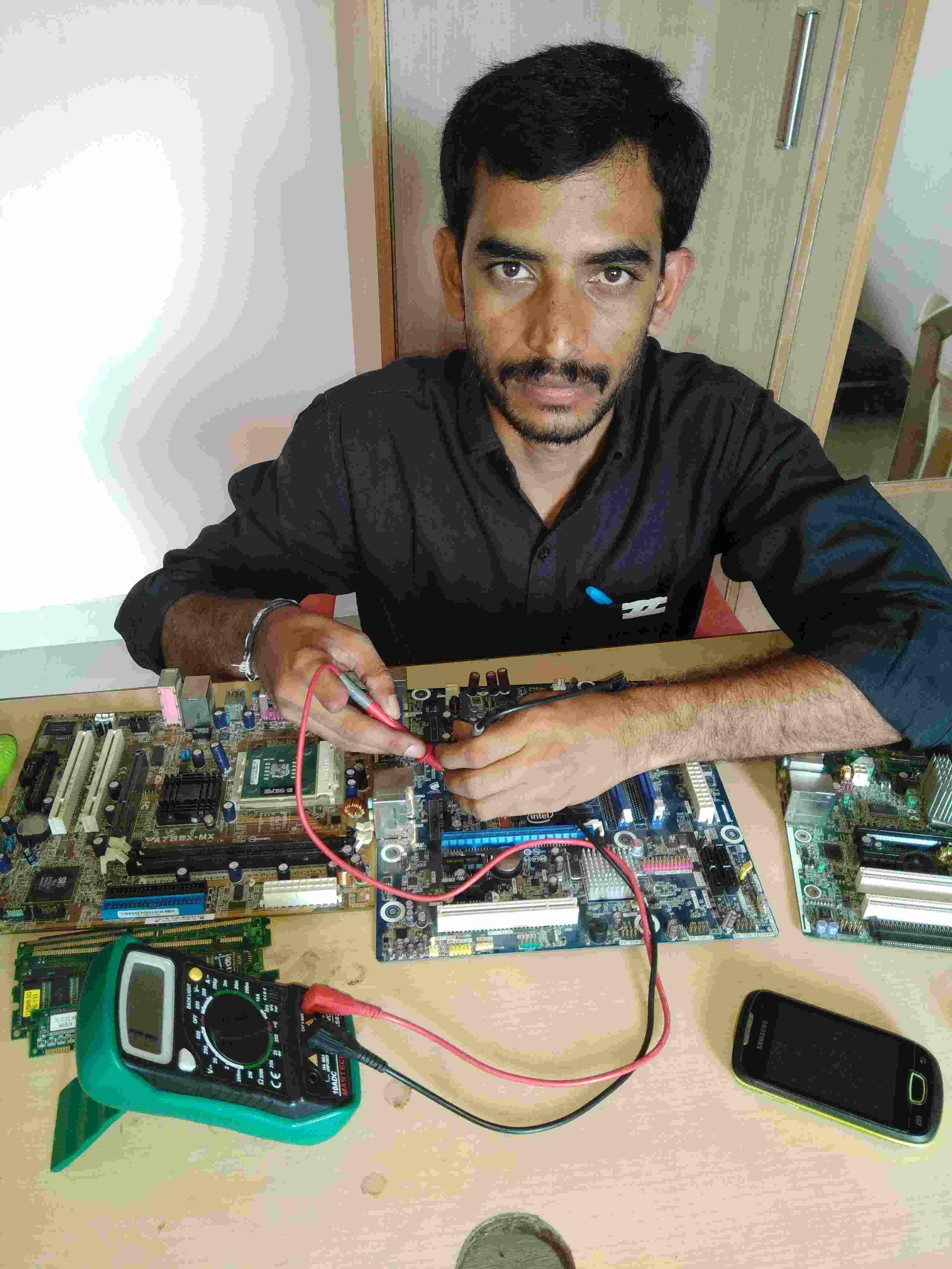 Laptop Dessktop Card Level Training Repairing Course Electrical Wiring Books Desktop Motherboard